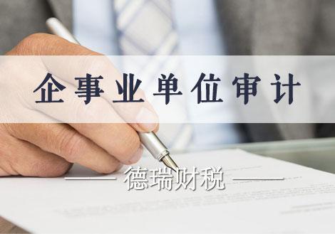 企事业单位审计