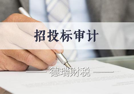 企业招投标审计 招标审计